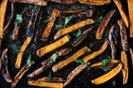 Simple Sweet Potato Fries | Nutrition Stripped
