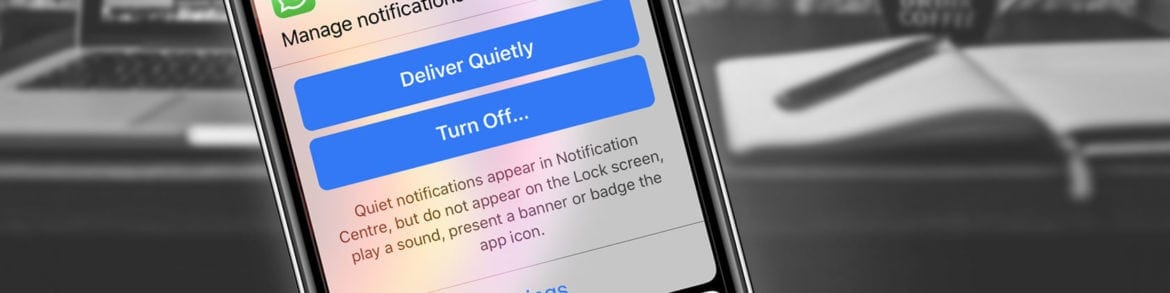 How to Take Control of Annoying iPhone Notifications With