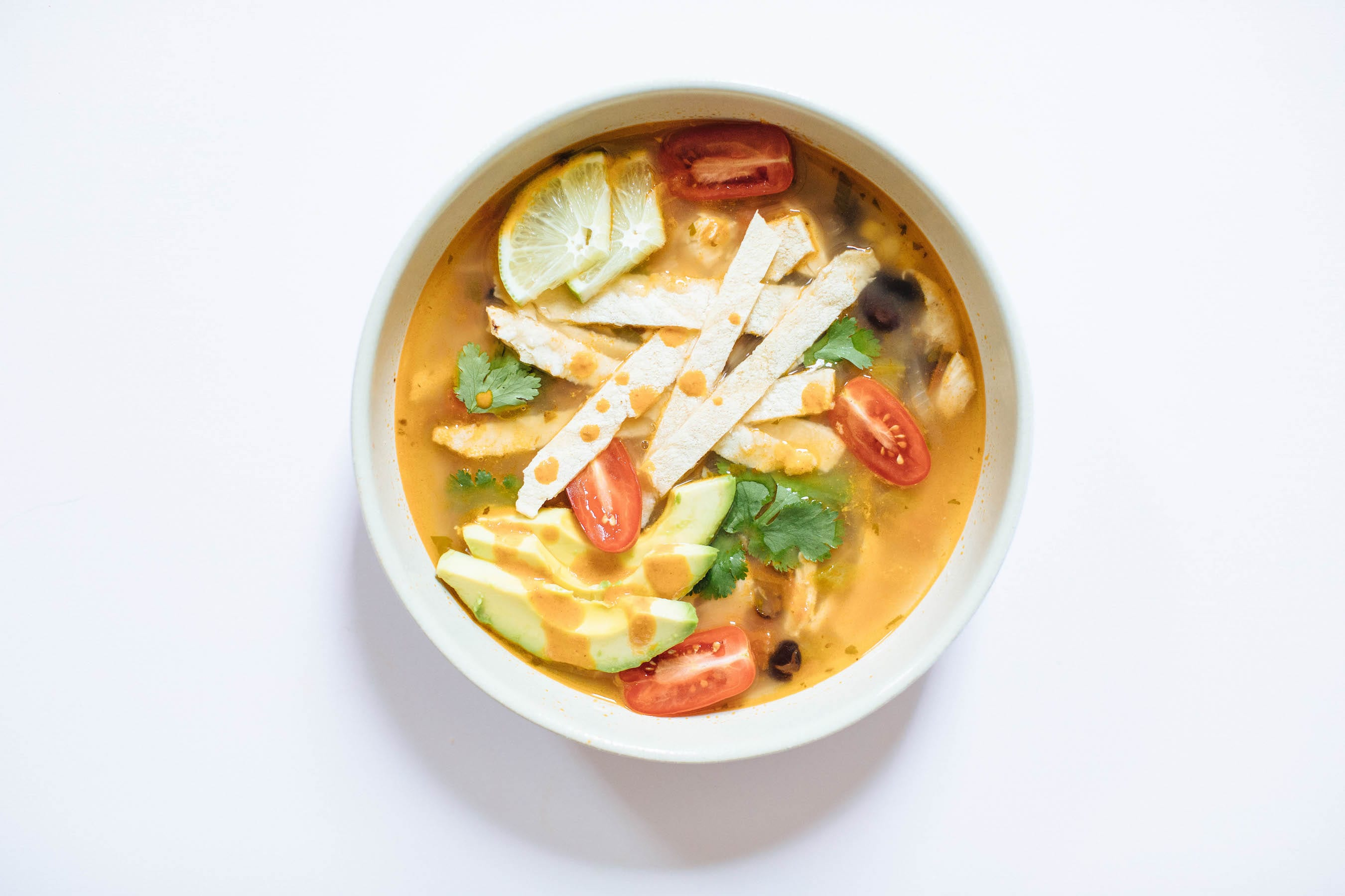 Chicken Tortilla Soup | Nutrition Stripped
