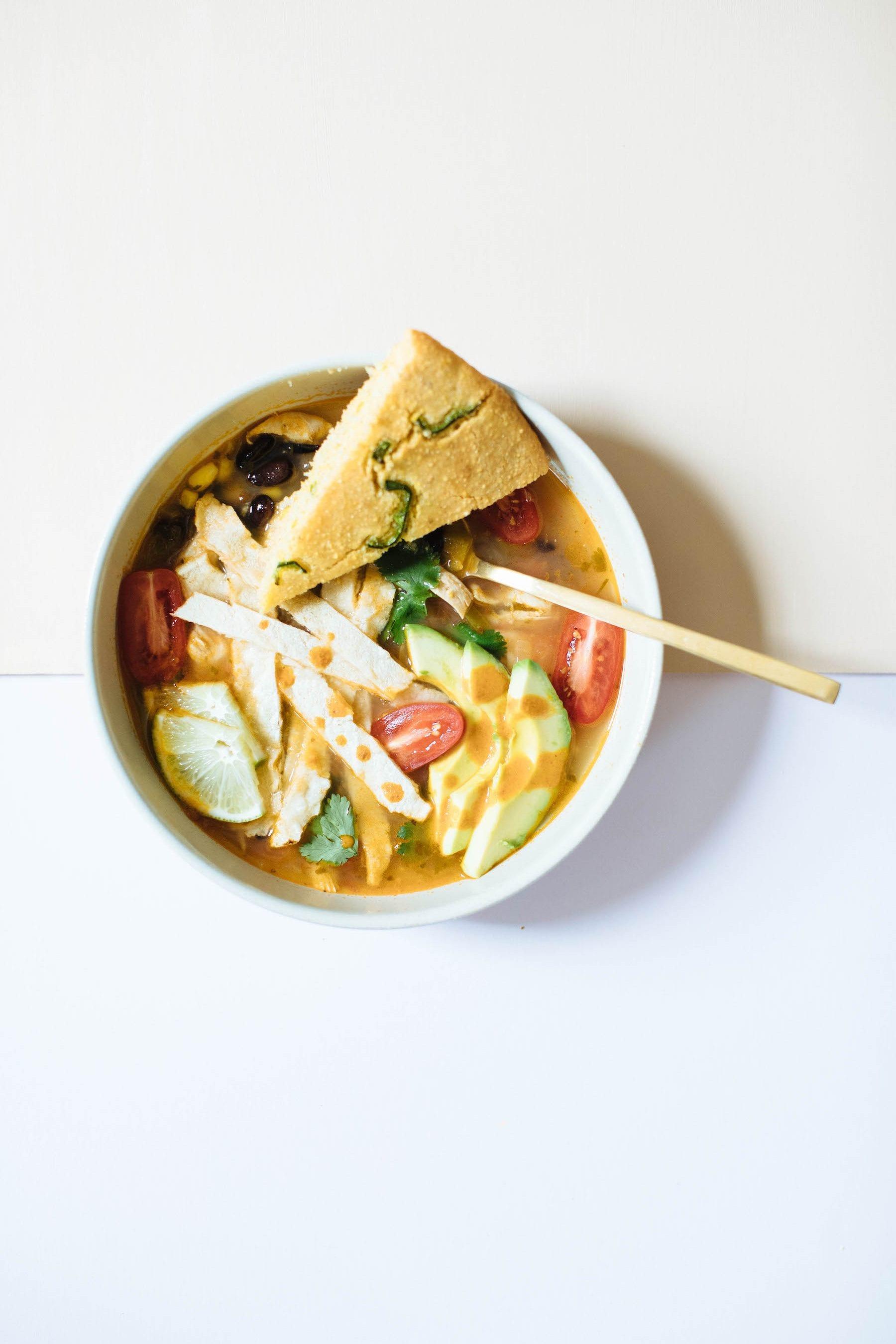 Chicken Tortilla Soup | Nutrition Stripped