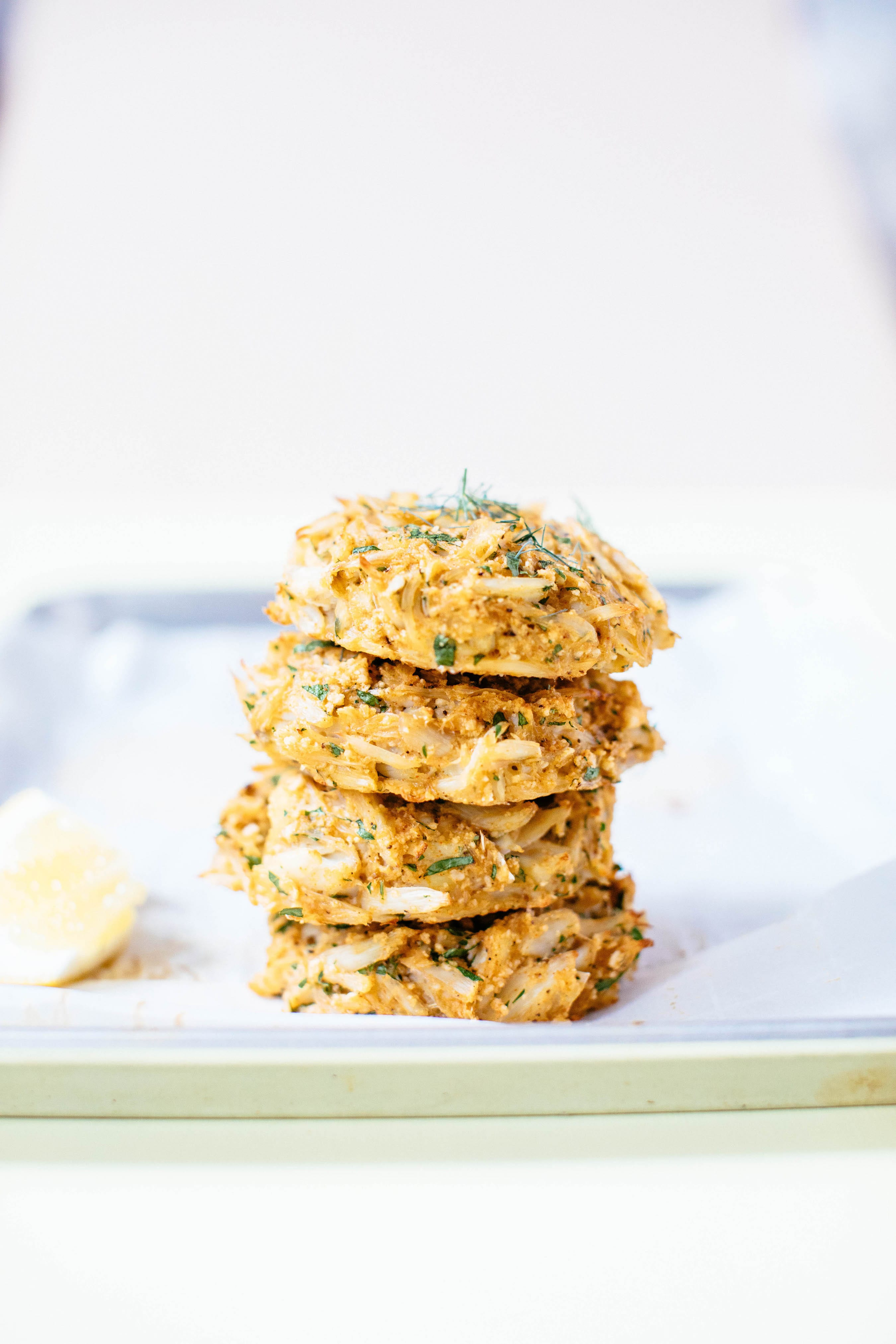 Easiest Baked Crab Cakes   Nutrition Stripped