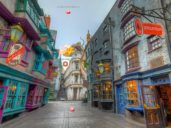 a virtual look at The Wizarding World of Harry Potter