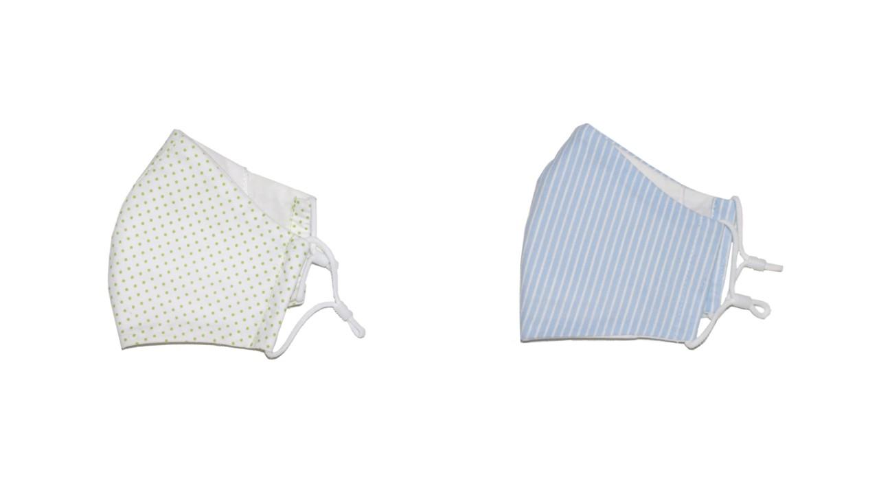 kid-sized reusable cloth face masks