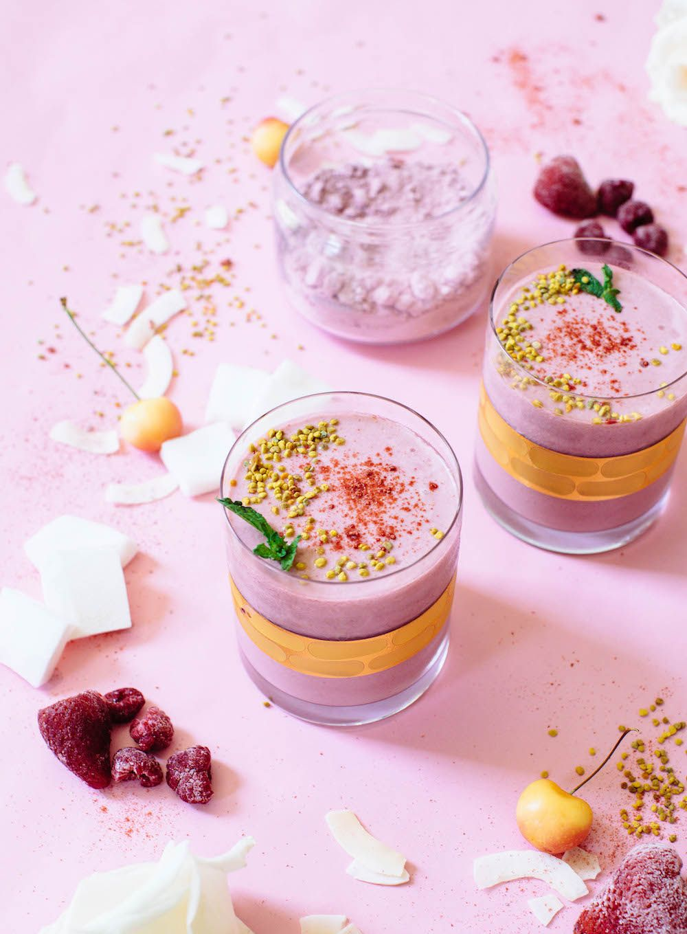 Coconut Berry Smoothie | Nutrition Stripped