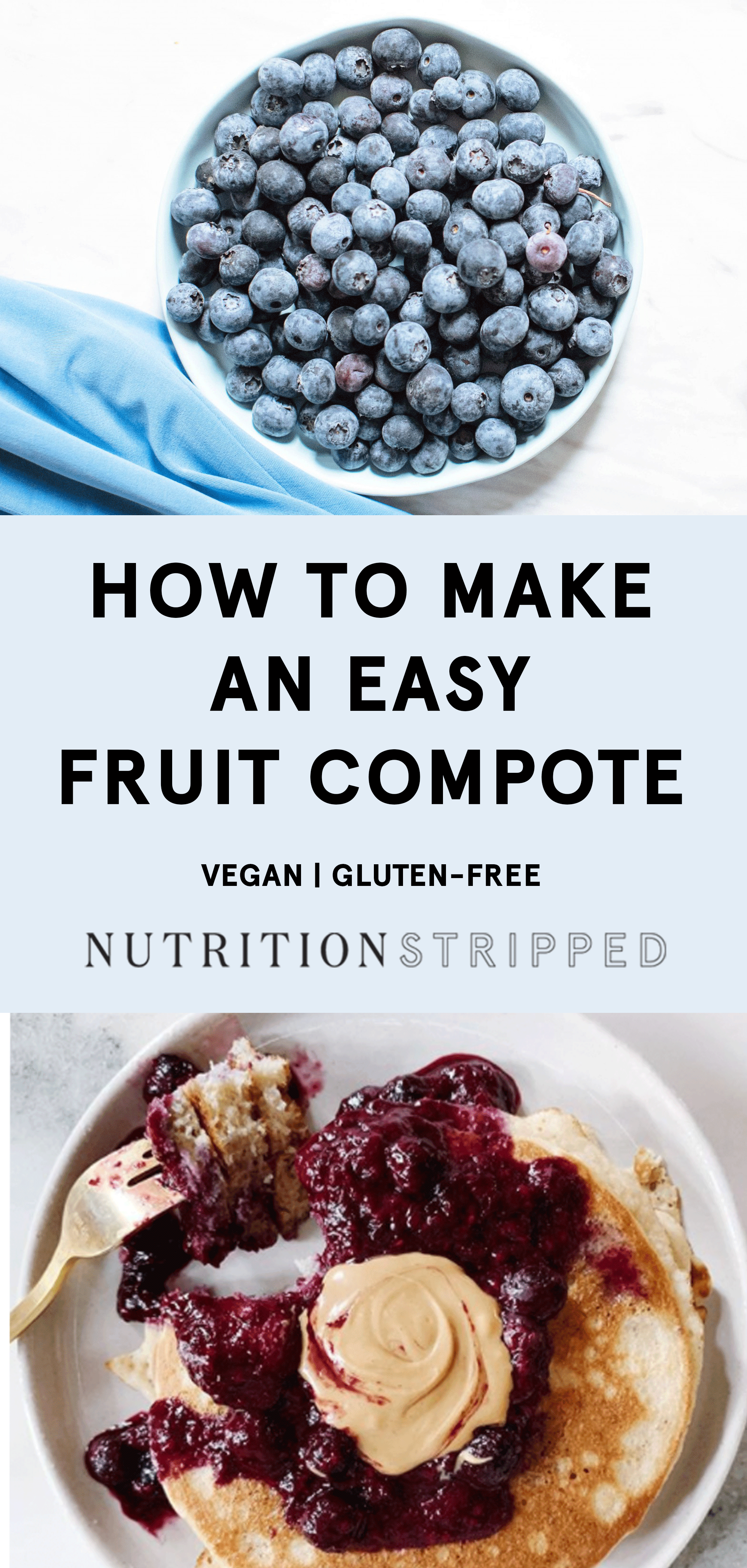 Fruit Compote Recipe | Nutrition Stripped