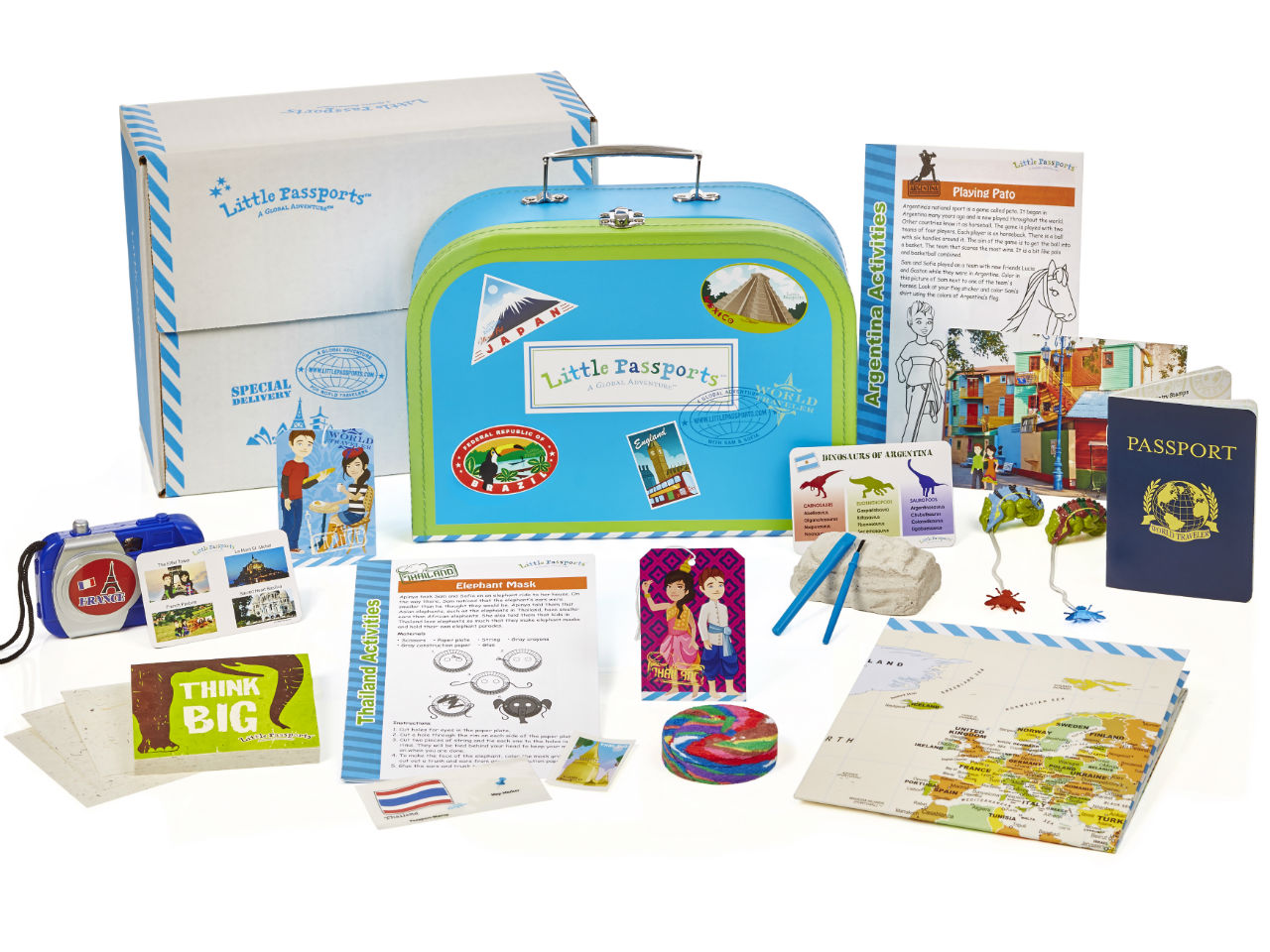 travel-themed subscription box for kids