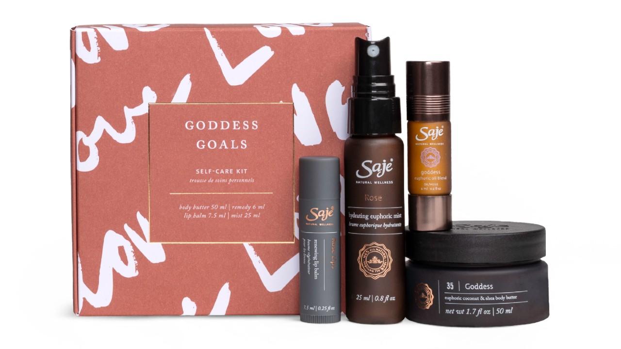 gift set in pretty box