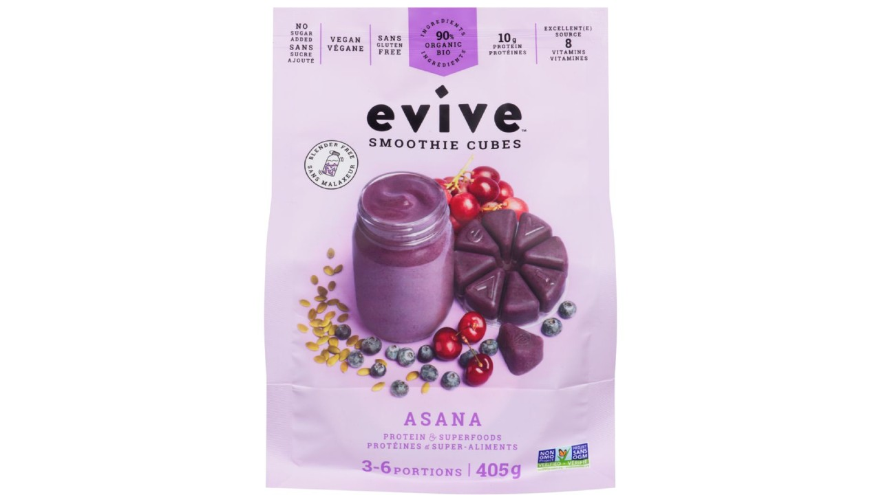 package of smoothie cubes